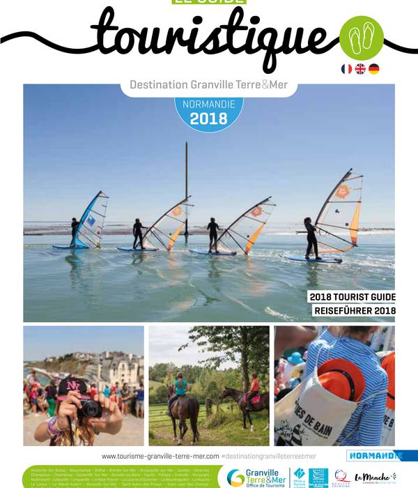 Brochures destination granville terre et mer - Office du tourisme de granville ...