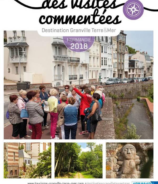 Le guide des visites commentées 2018