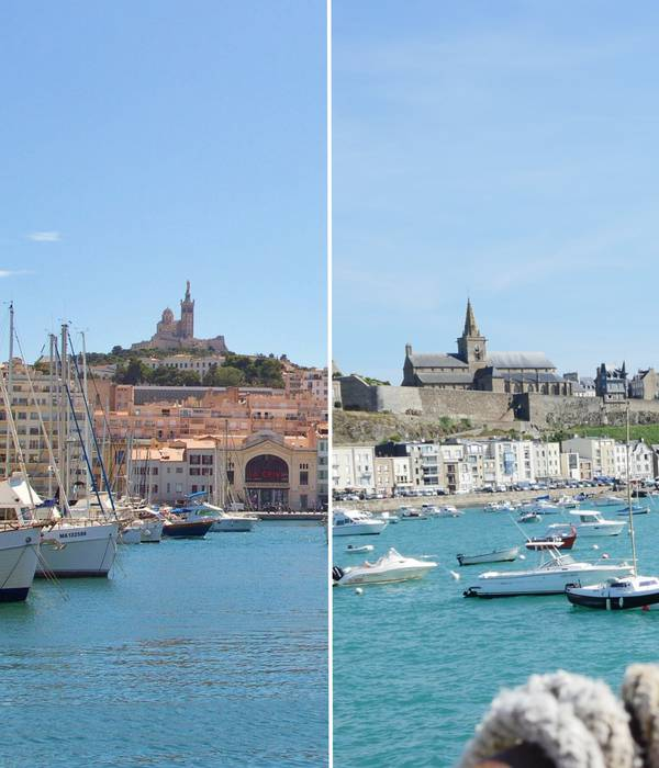 Granville-Marseille : 5 points communs entre 2 ports