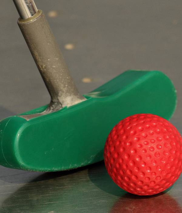 Mini-golf : la tradition des vacances !