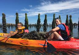 kayak moules huitres chausey