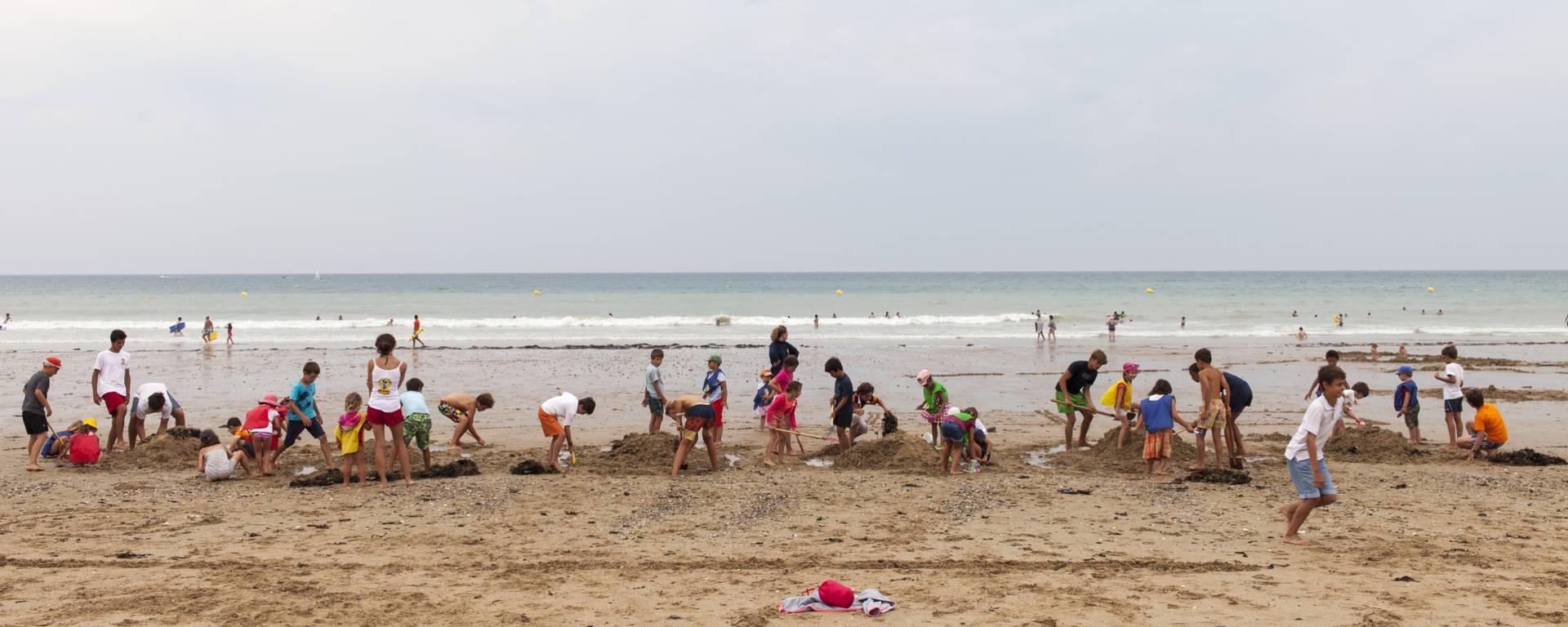 La plage de Jullouville