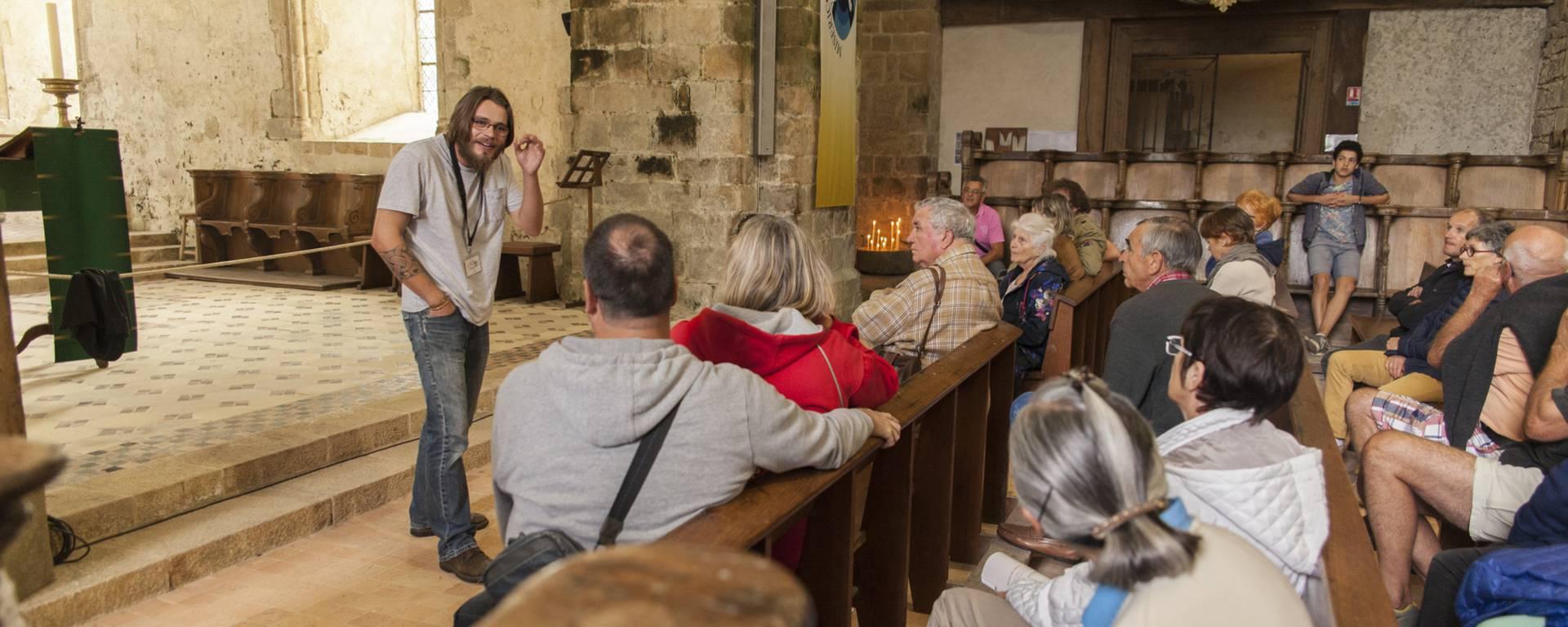 Visite guidée de l'Abbaye de la Lucerne