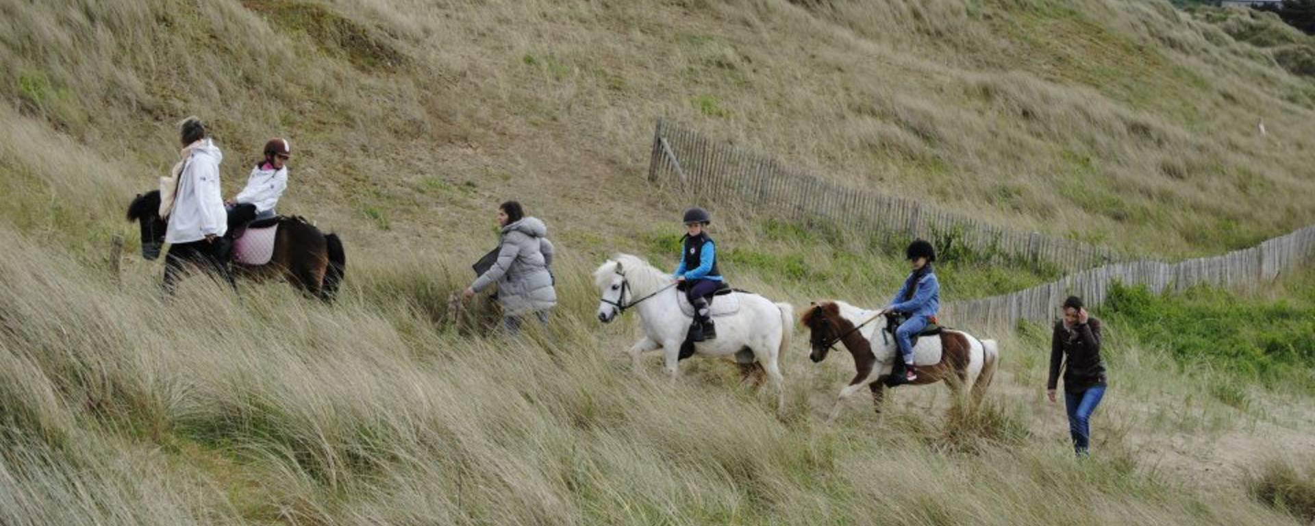 Se promener à dos de poney