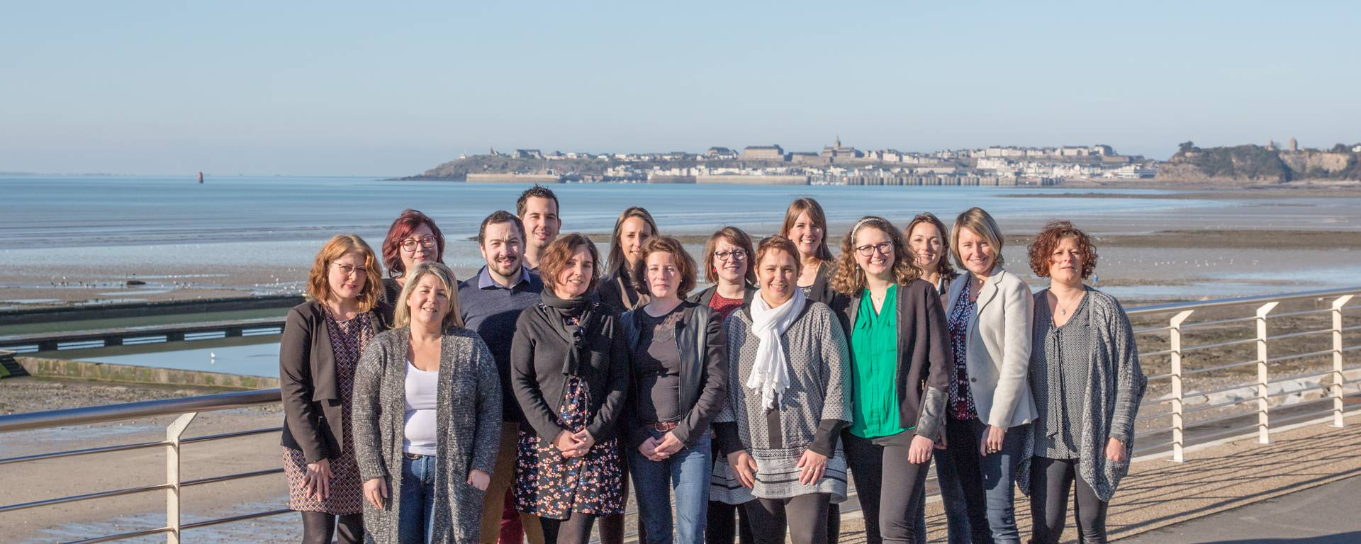 L'équipe de l' Office de Tourisme Granville Terre et Mer