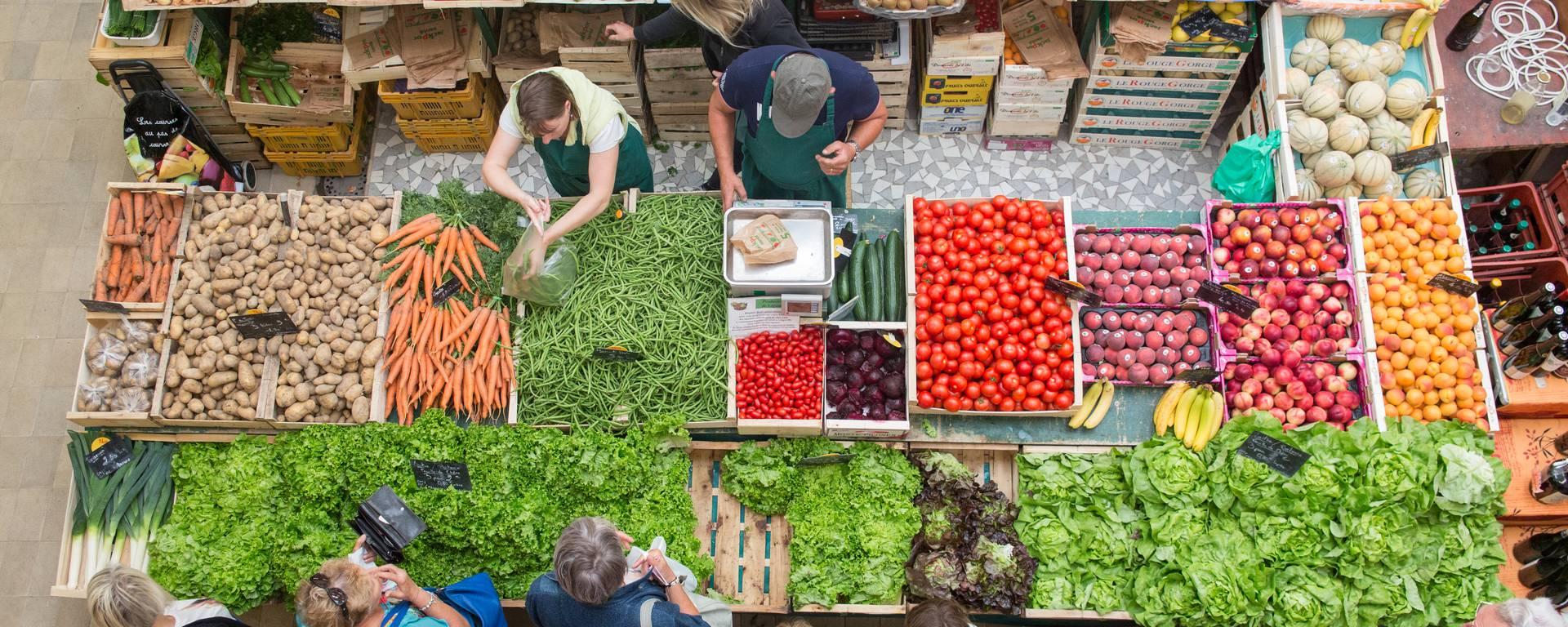 Le marché de Granville