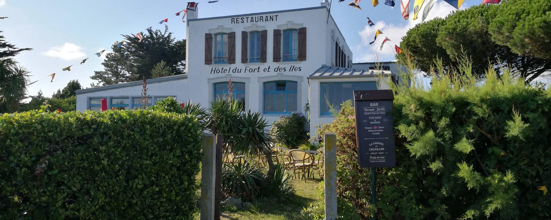 l'hôtel du Fort et des îles à Chausey