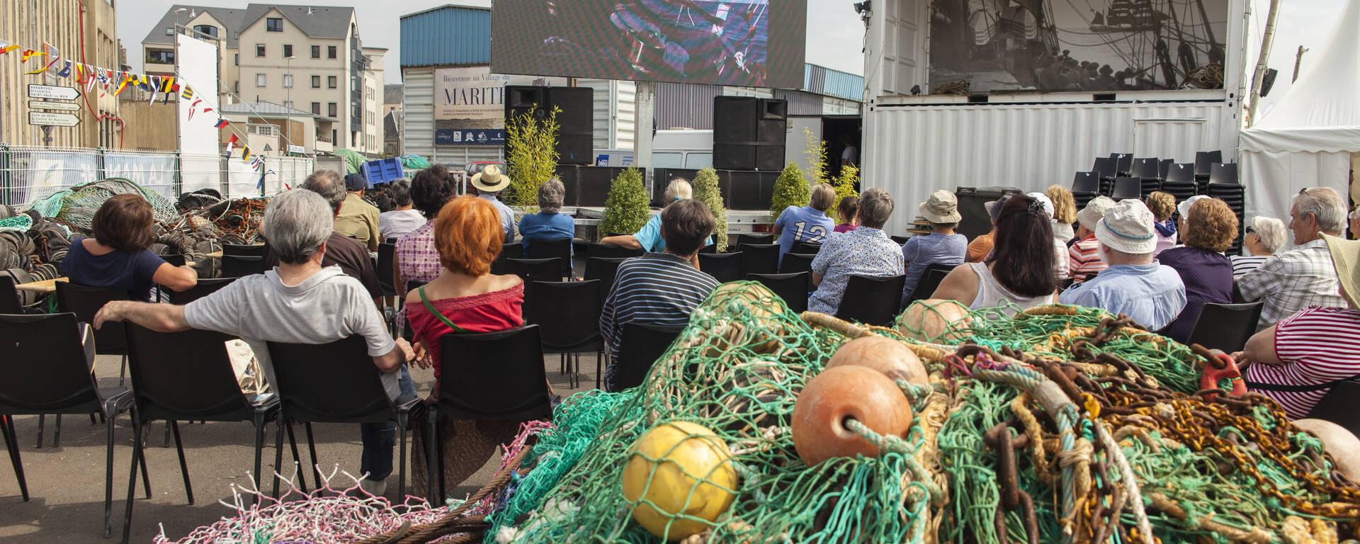 Cinéma au Festival des Voiles de travail