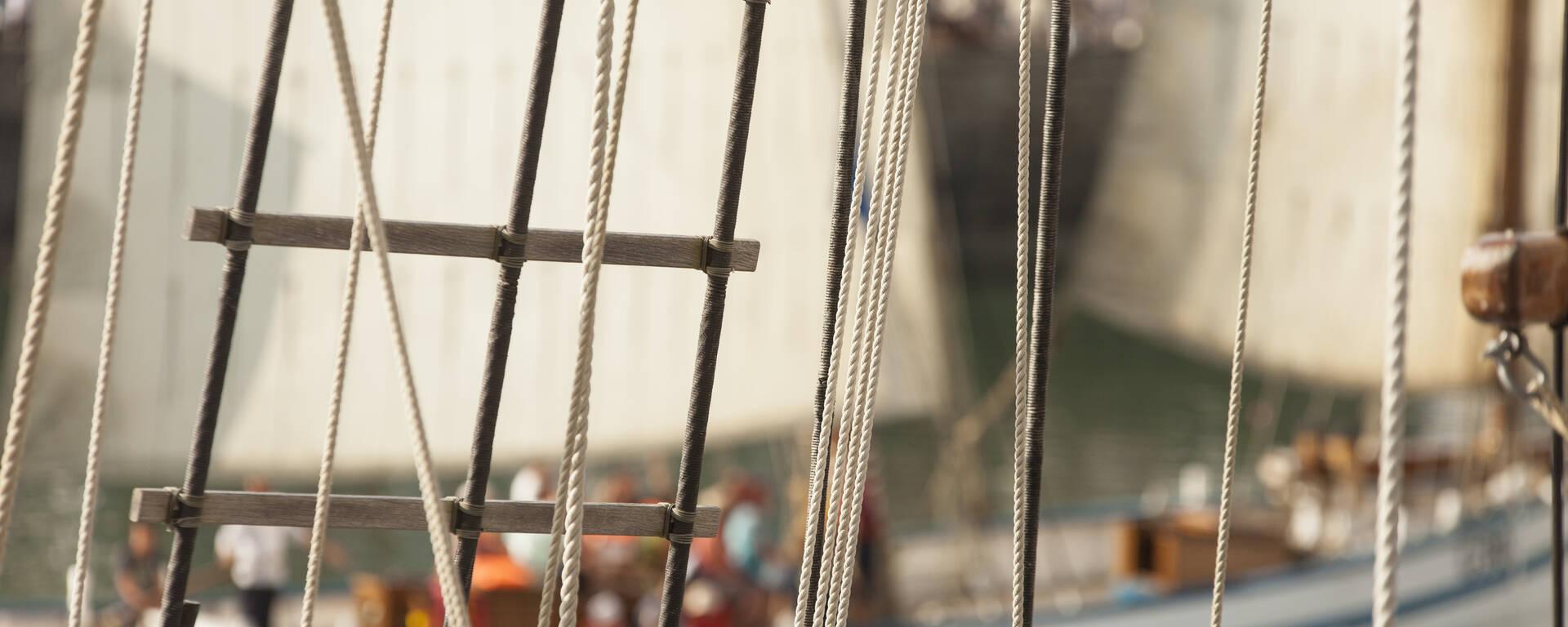 Sortie à bord des vieux gréements au Festival des Voiles de travail