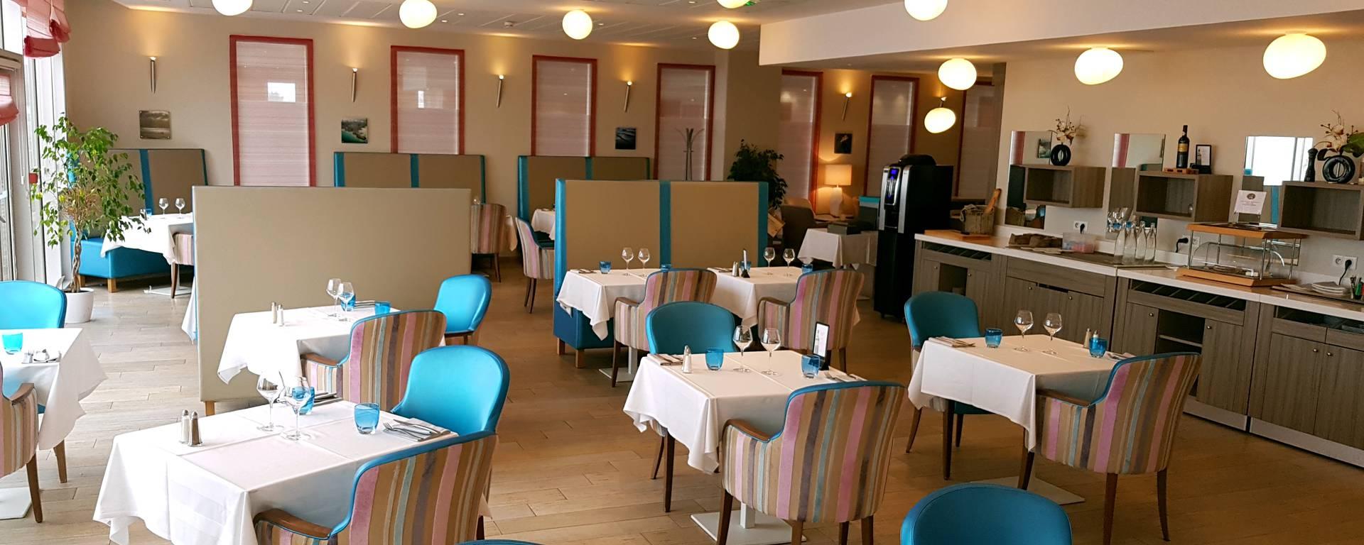 La salle du restaurant Le Sound