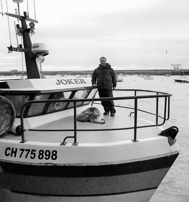 Pascal Thevenin pêche Granville Normandie