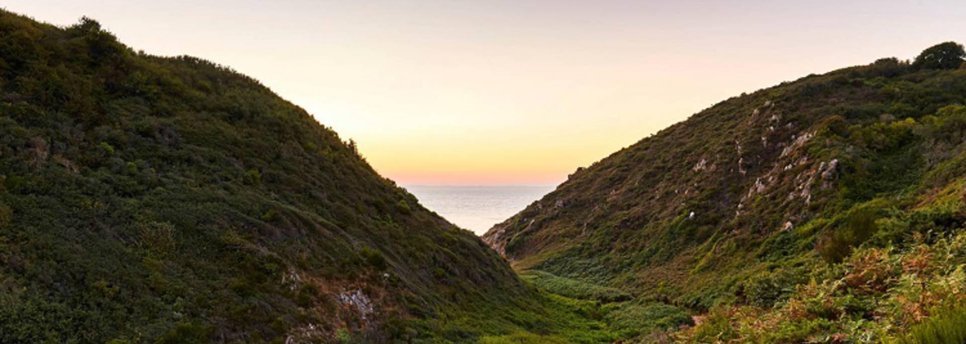 Vallée du Lude carolles Normandie Manche préservé insolite