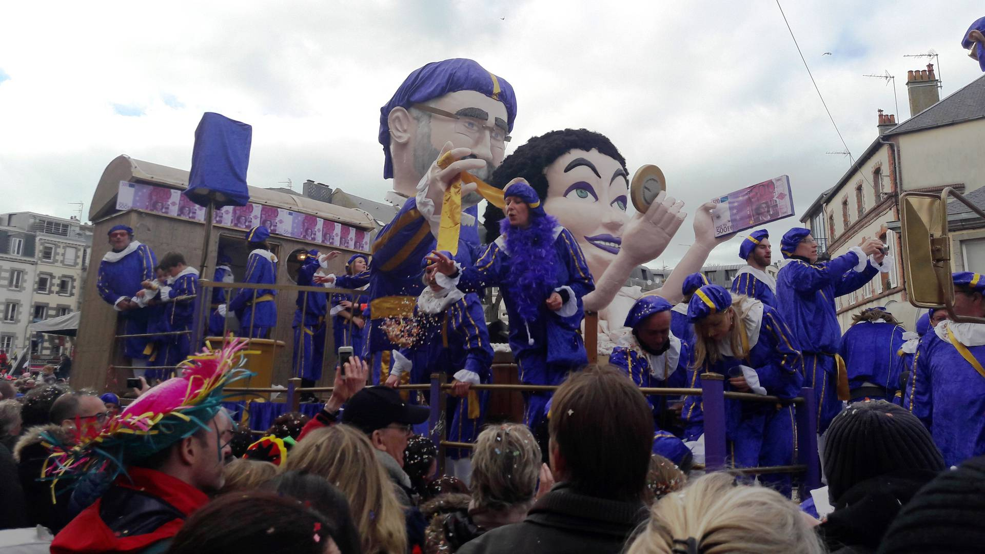 Carnaval de Granville 2017 - Cavalcade du Dimanche