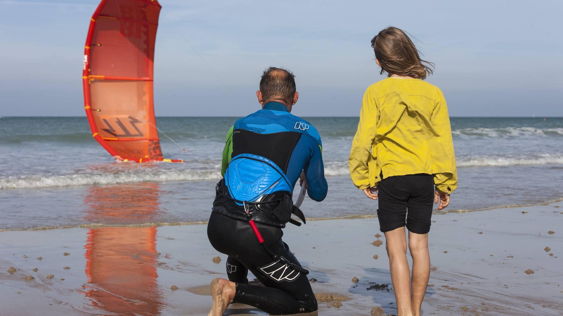 Apprendre le kite-surf - T Jouanneau OTGTM