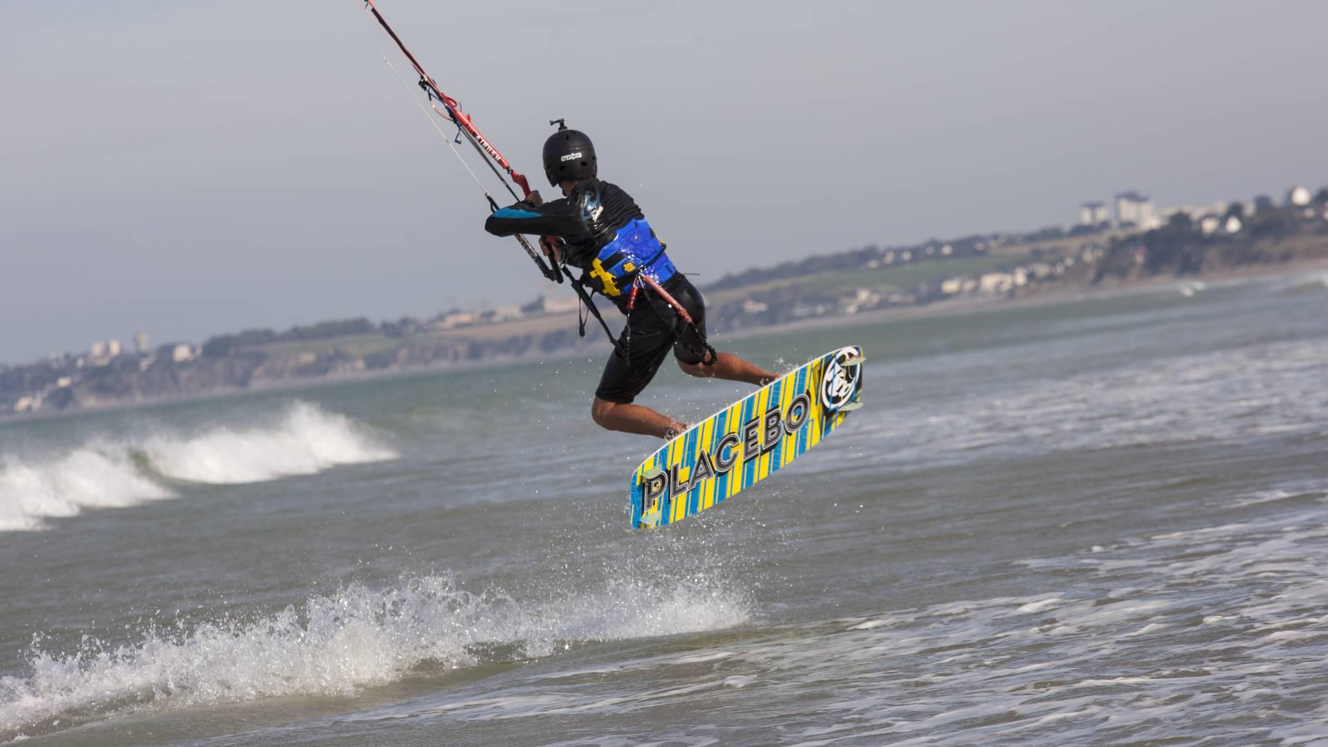 Démonstration de kite - T Jouanneau OTGTM