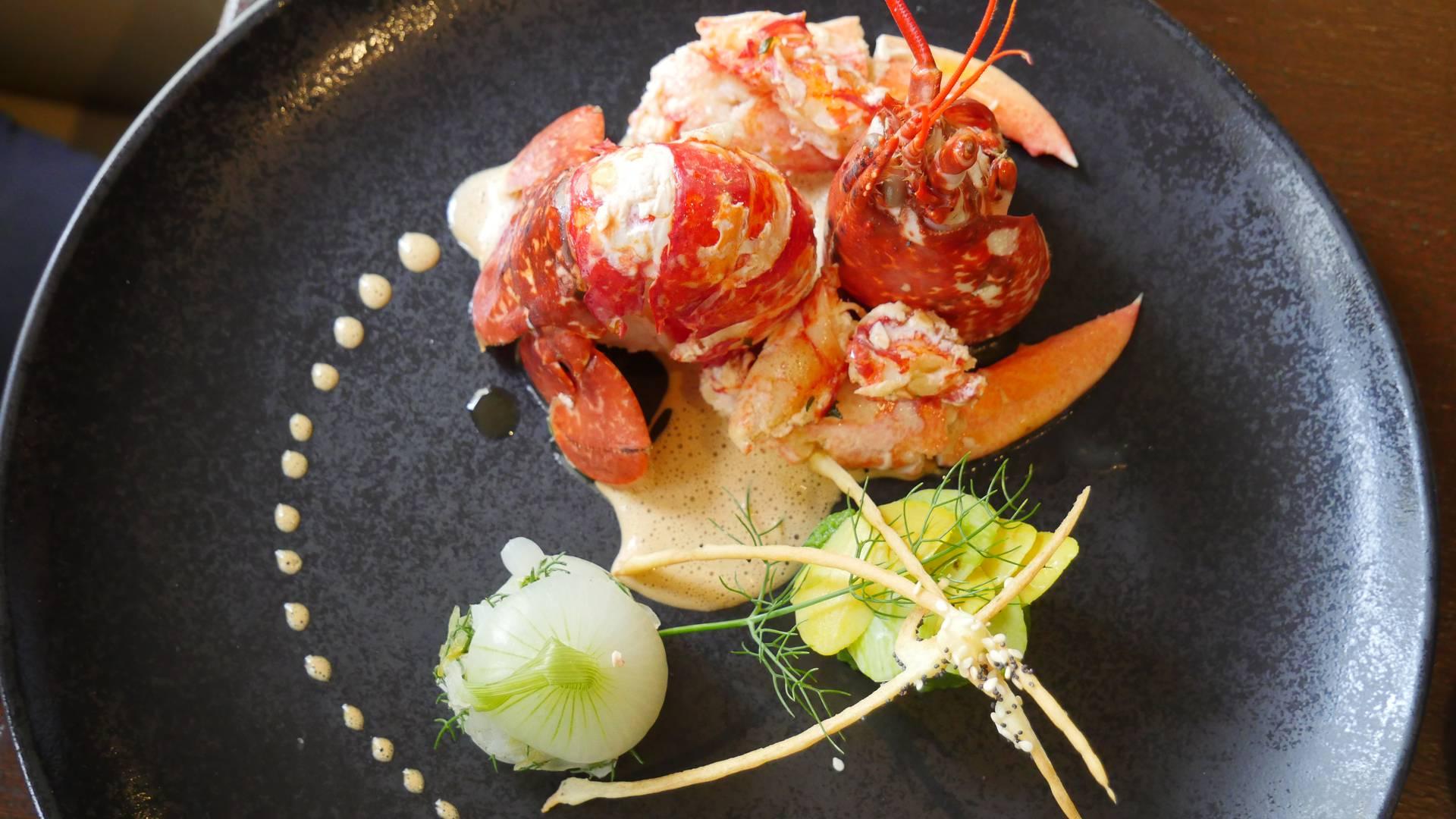 assiette dressée expérience homard edulis granville