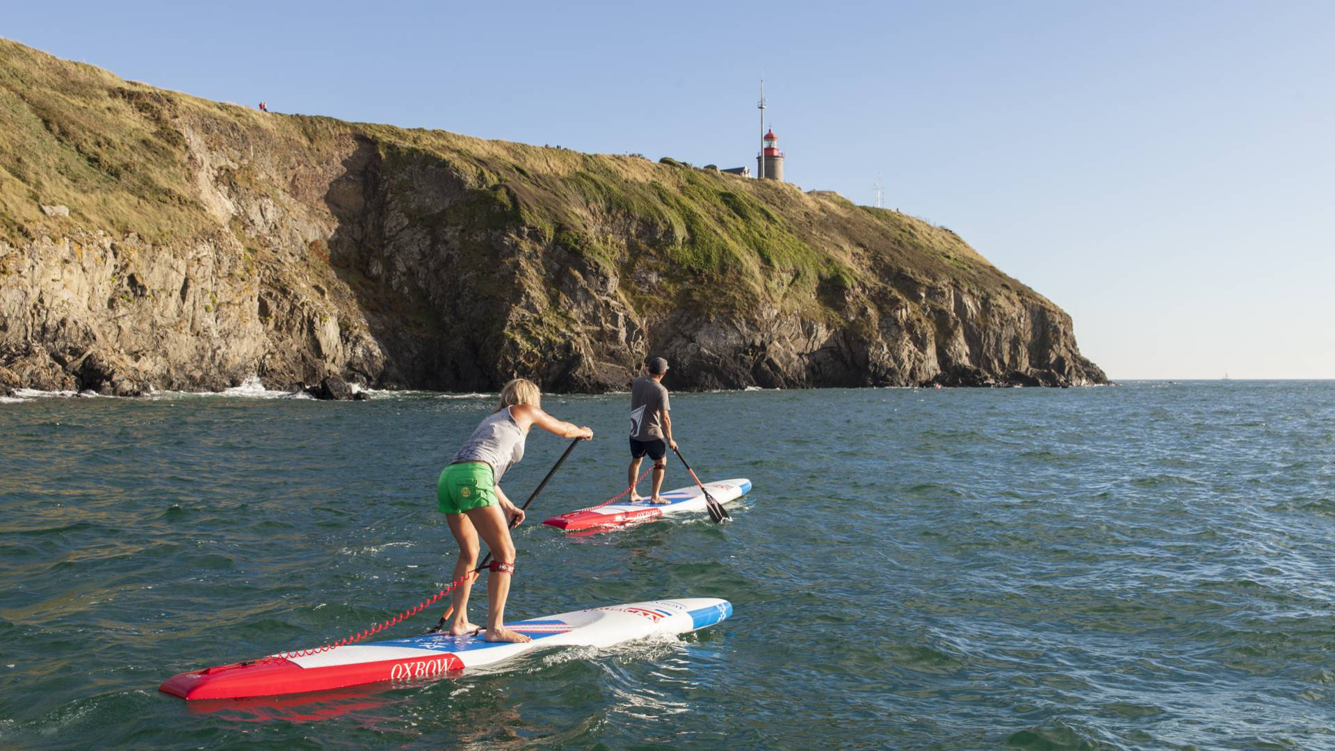 stand up paddle granville nautisme surf