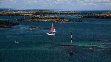 Courrier des iles chausey navigation archipel
