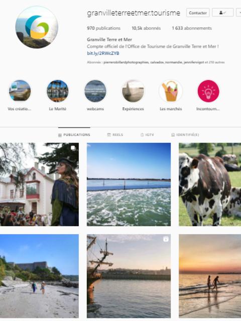 social wall Instagram