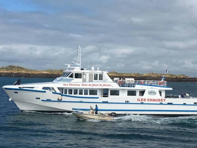 Joly France, vedette pour les îles Chausey