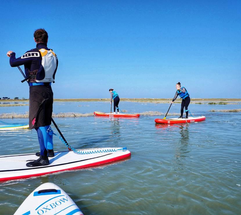 Paddle - Havre Vanlée - nautisme