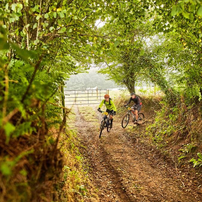 chemins de Beauchamps, randonnées en VTT dans la Manche, destination granville terre et mer