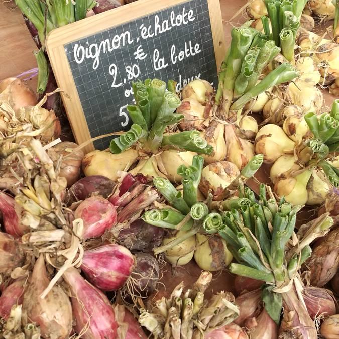 Les échalotes de Hyacinthe