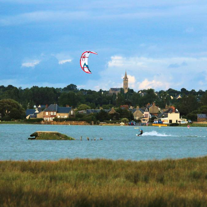 Havre de la vanlée kitesurfing