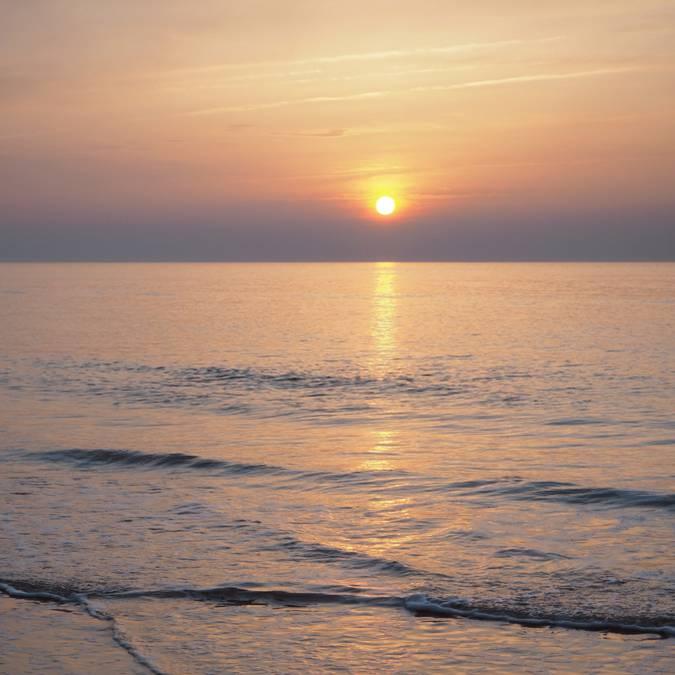 carolles coucher soleil