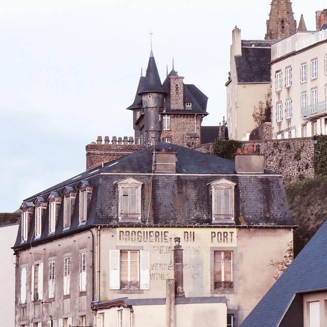 Vue sur Granville - © Cécile Ballon