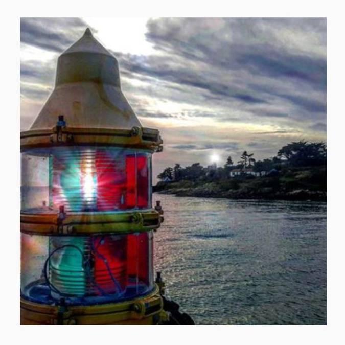 Le phare de chausey par l'Homme du phare