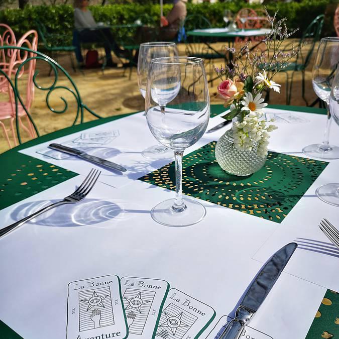 jardin Dior Granville Table Gastronomie restaurant