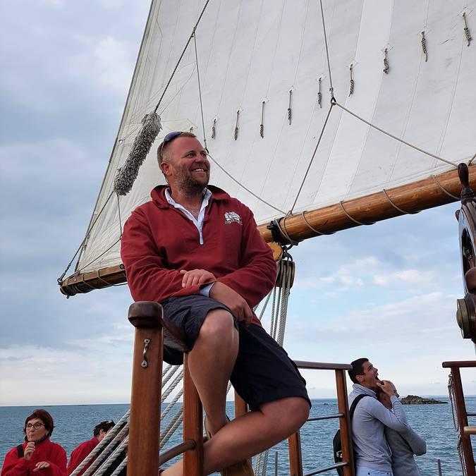 Matthieu capitaine du Marité