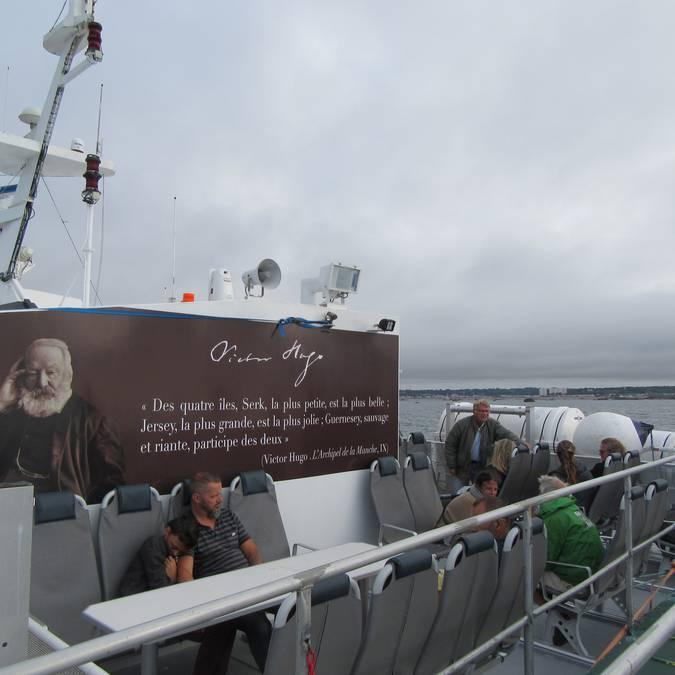 jersey granville bateau